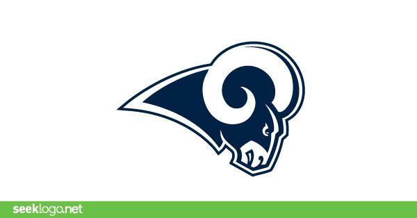 Los Angeles Rams logo in (.EPS + .SVG) vector free download.
