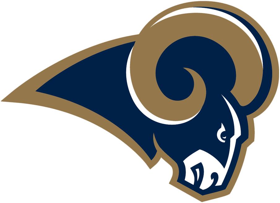 St. Louis Rams Primary Logo.