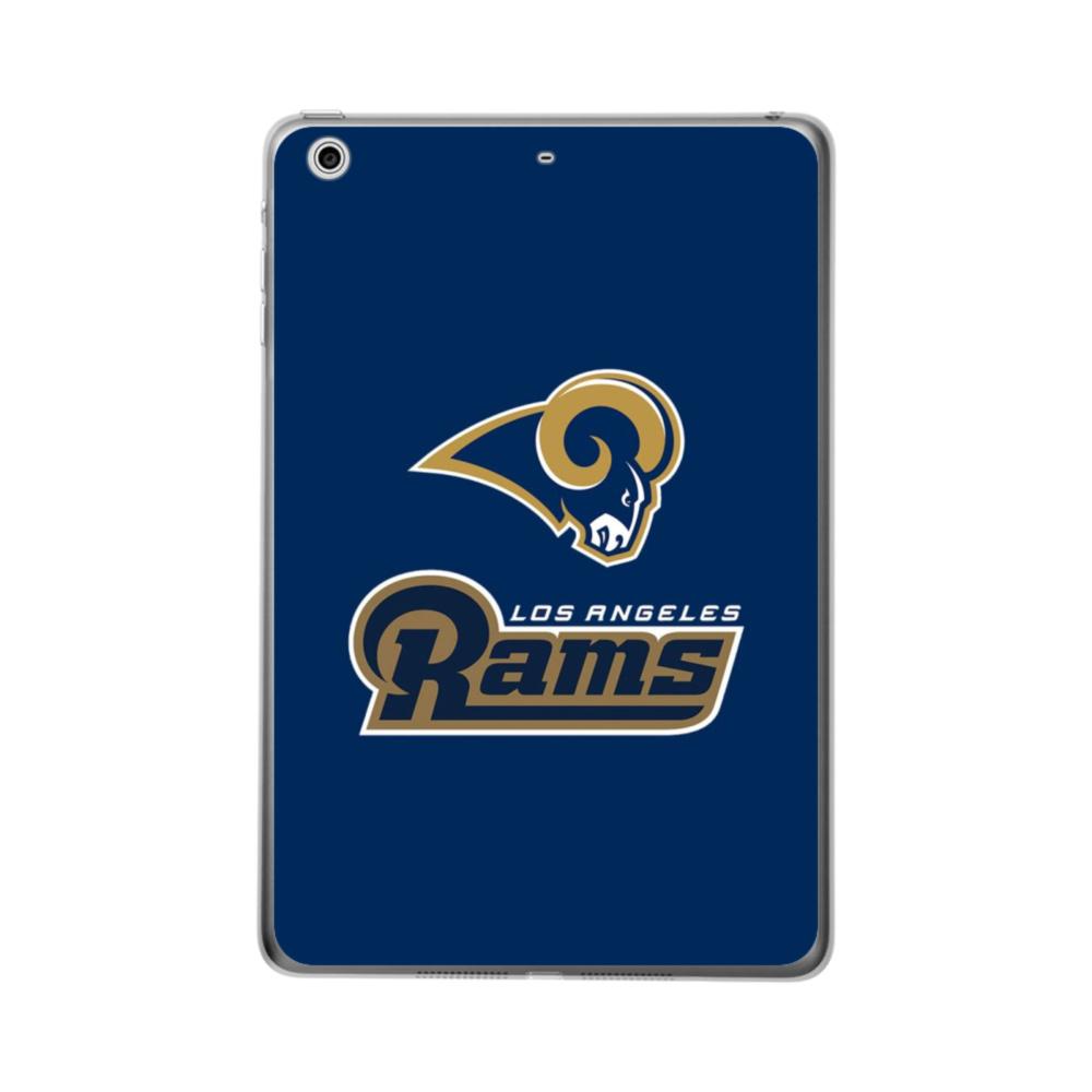 Los Angeles Rams Team Logo Mascot Name iPad Air (2019) Clear Case.