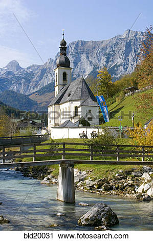Stock Photography of Germany, Bavaria, Berchtesgadener Land.