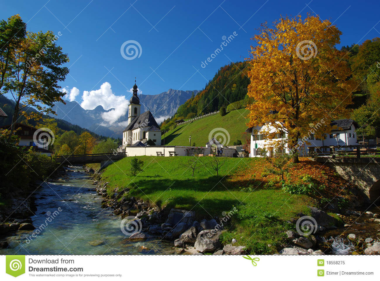 Ramsau Royalty Free Stock Photo.