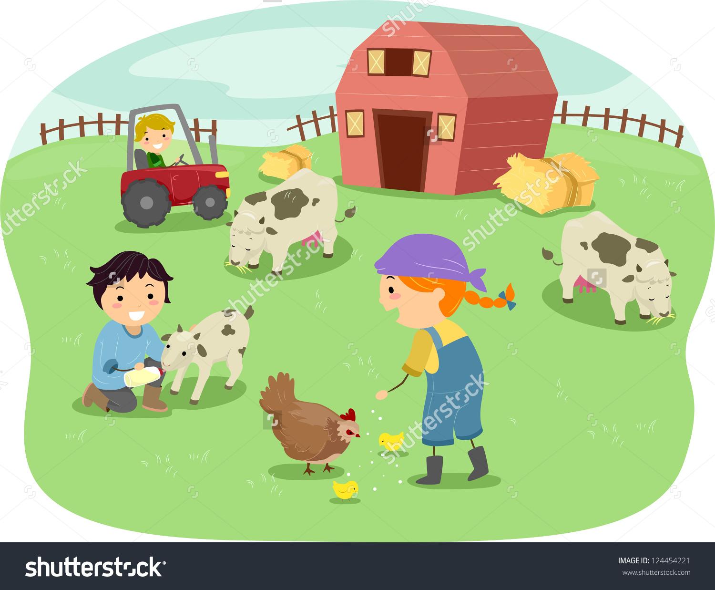 Animal husbandry clipart.