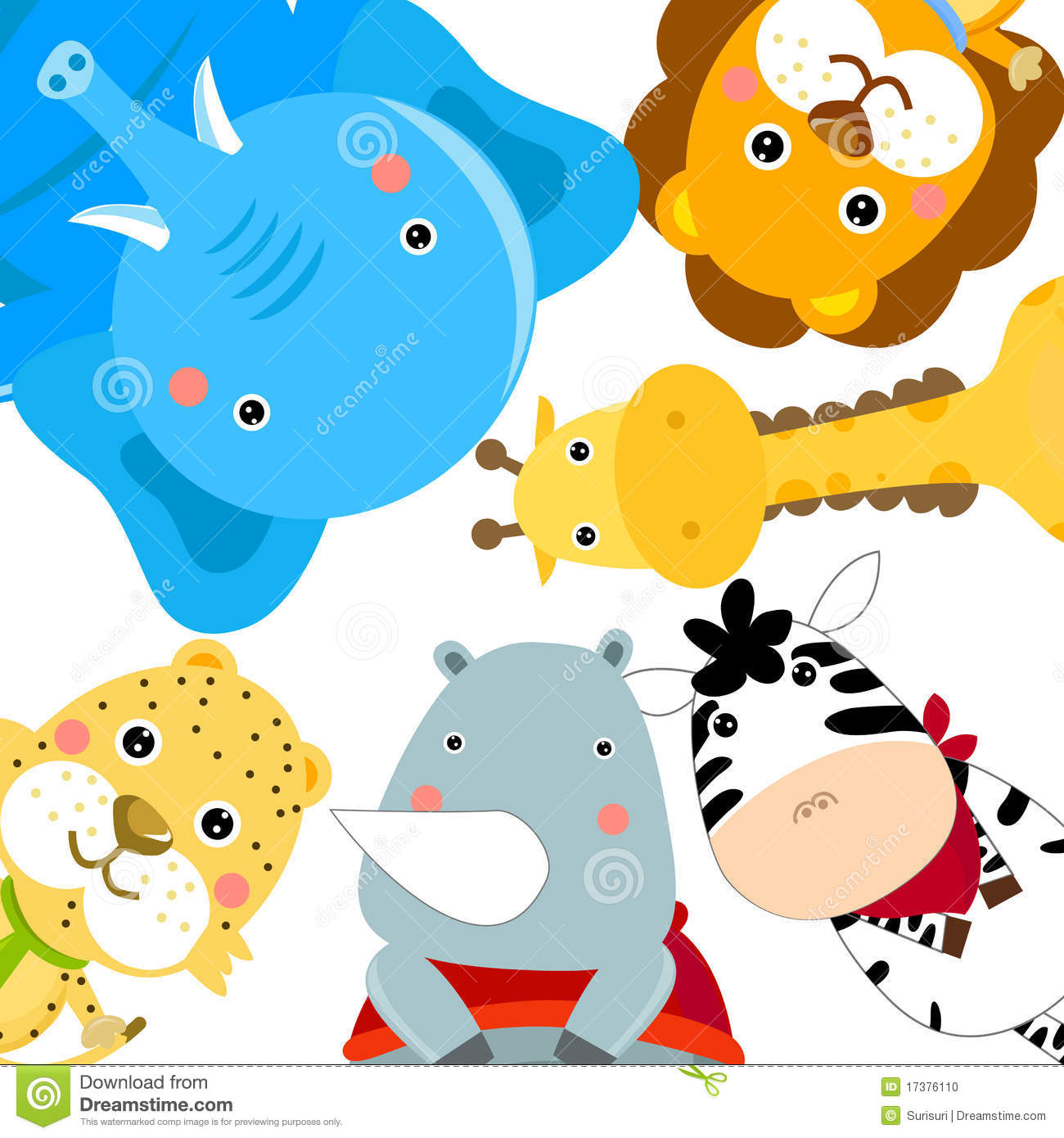 Clipart animal groups.