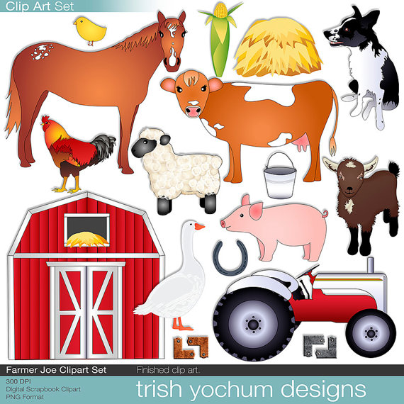 Farm and ranch clipart.