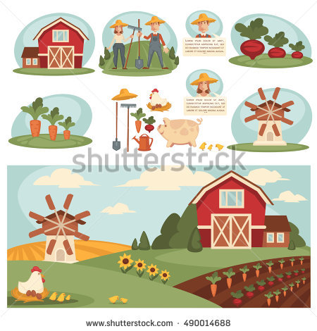 Ranch House Stock Photos, Royalty.