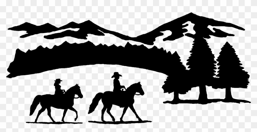 Download Free png Ranch Clipart Horse Horse Ranch Silhouette.