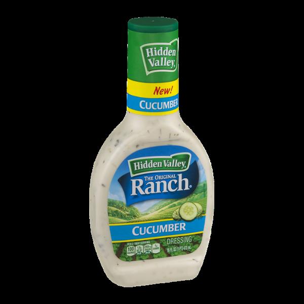 Hidden Valley Ranch Dressing Cucumber Reviews 2019.