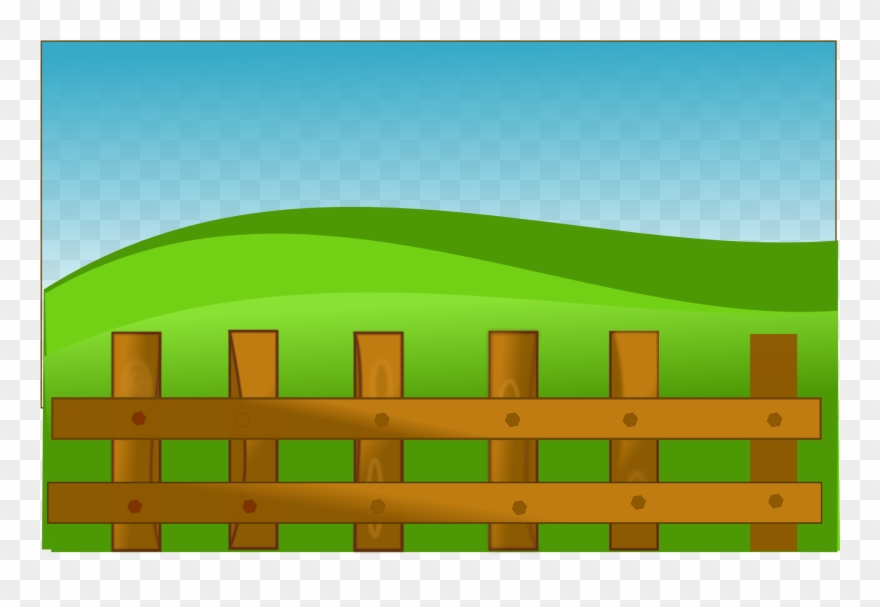 Fence Clipart Ranch Fence.
