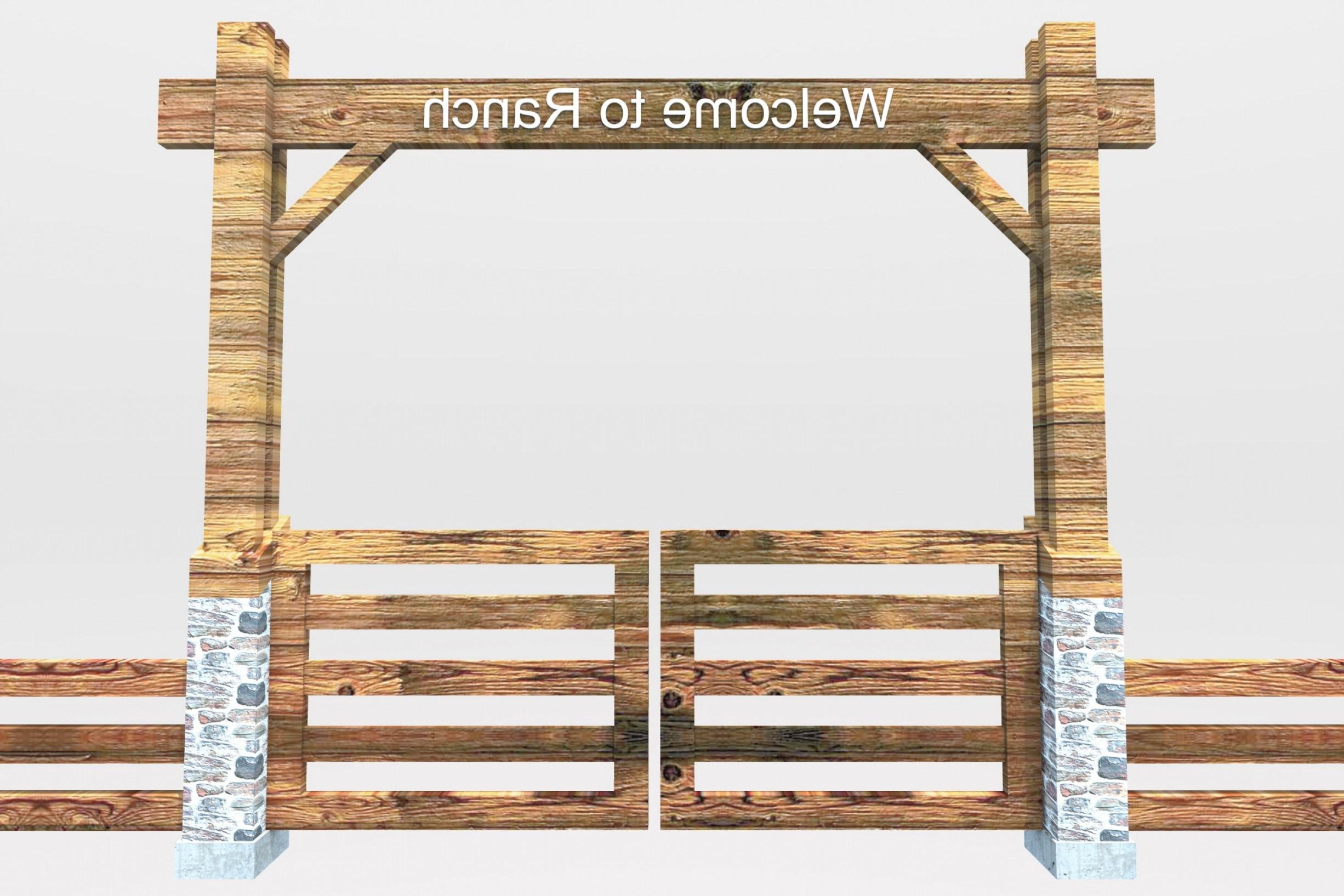 Ranch gate clipart 5 » Clipart Portal.