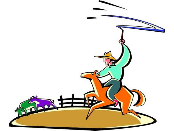 Ranch Fence Clipart.