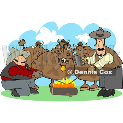 Rancher Clipart by Dennis Cox.