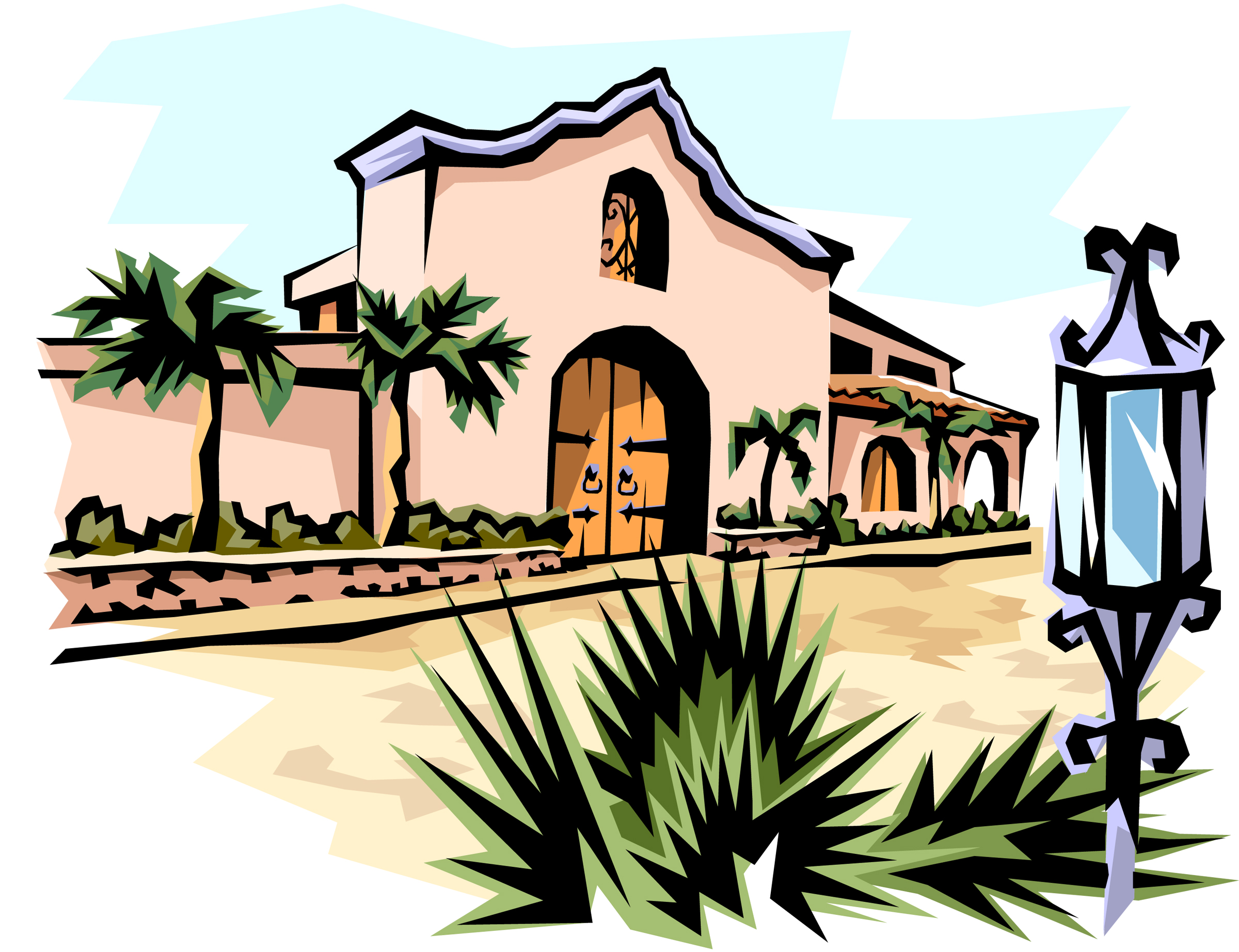 Mexican House Clipart.