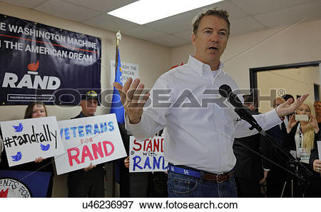 Picture of LAS VEGAS, NV, DEC 15, 201Presidential Candidate Rand.