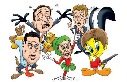 GQ: Rand Paul, Ted Cruz, Joni Ernst Among 'America's 20 Craziest.