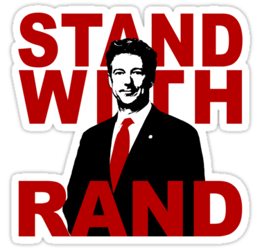 STAND WITH RAND.