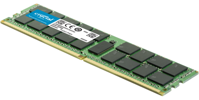 Crucial RAM Memory for Servers & Workstations.