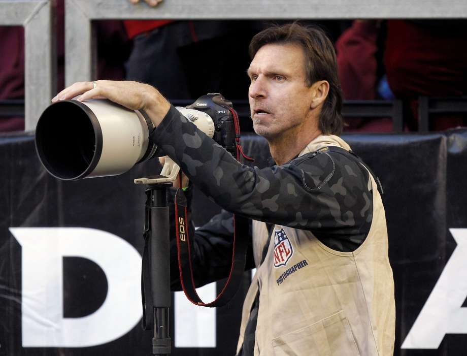 Randy Johnson finds outlet in photography.