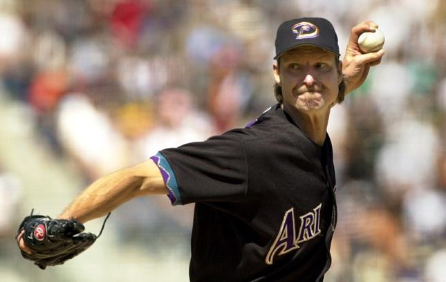 Former MLB star Randy Johnson shoots for second career.