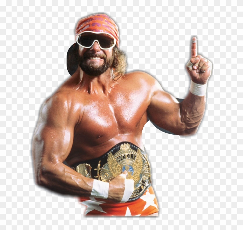 The Official Macho Man Randy Savage Sticker, HD Png Download.