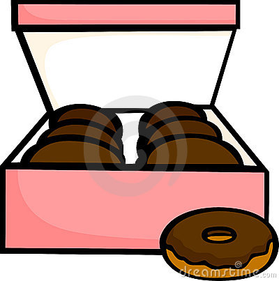Randys donuts clipart.
