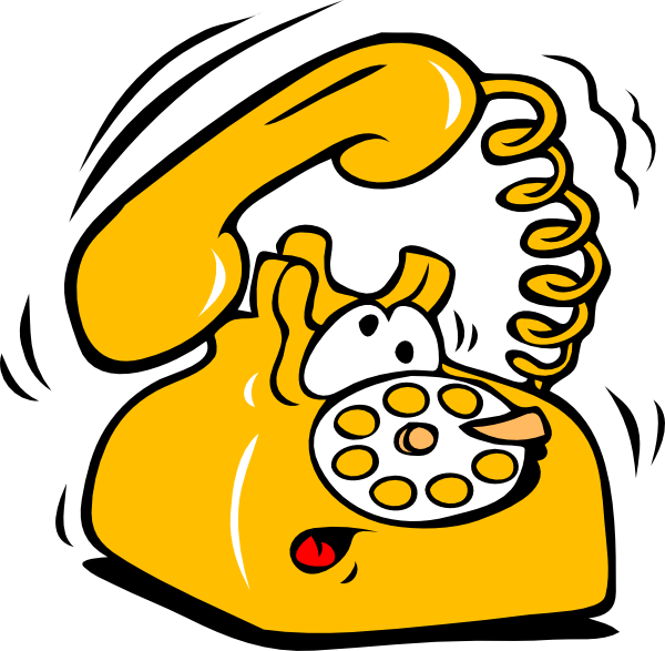 Ringing Telephone Clip Art at Clker.com.