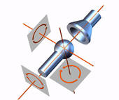 Clip Art of Range of motion mm203022.