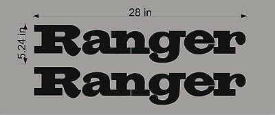 RANGER BOATS RETRO Logo / PAIR / 28\