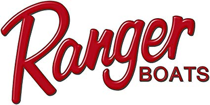 Ranger Boats RED Logo Decal 6x12\