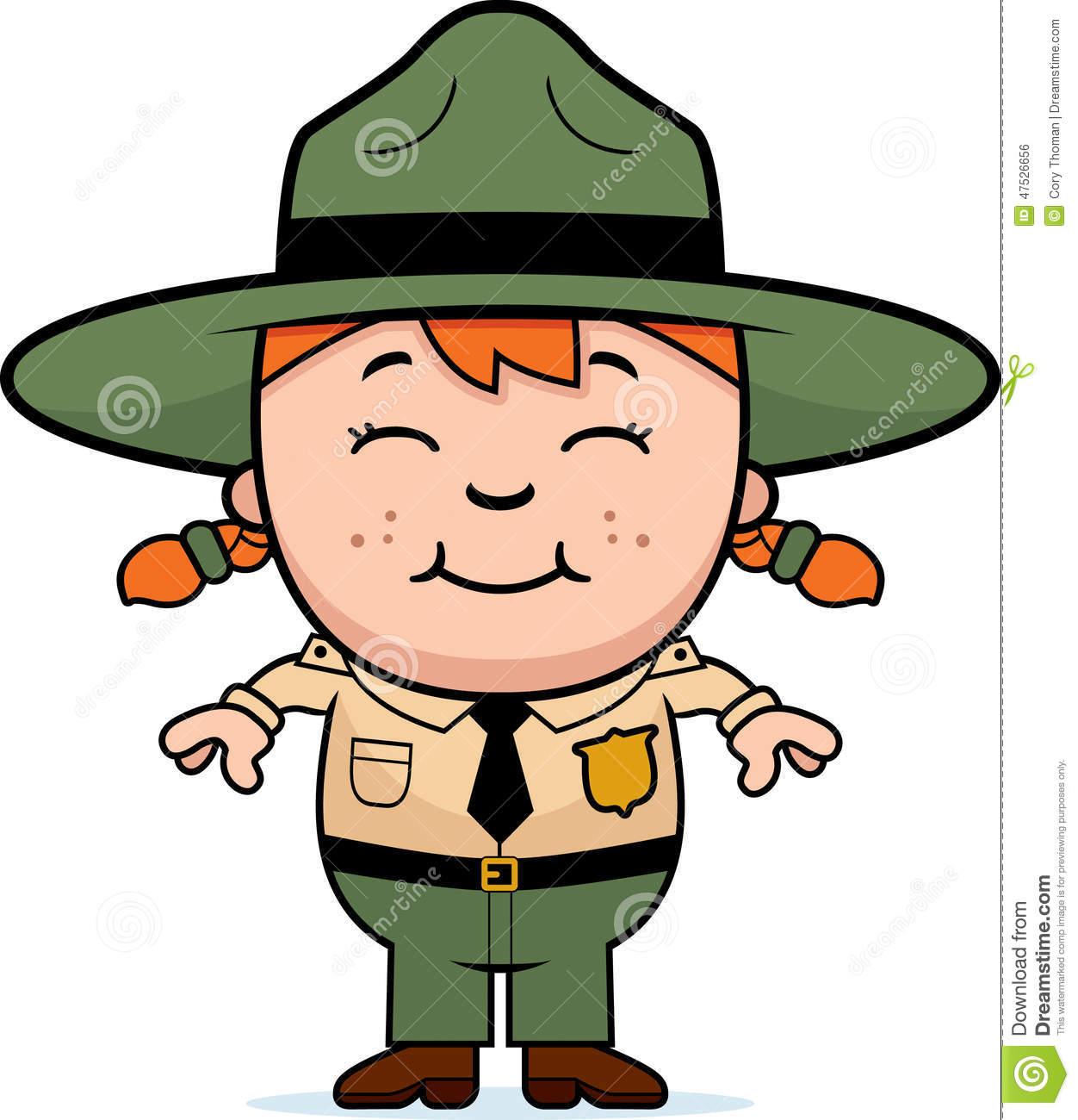 Forest ranger clipart.