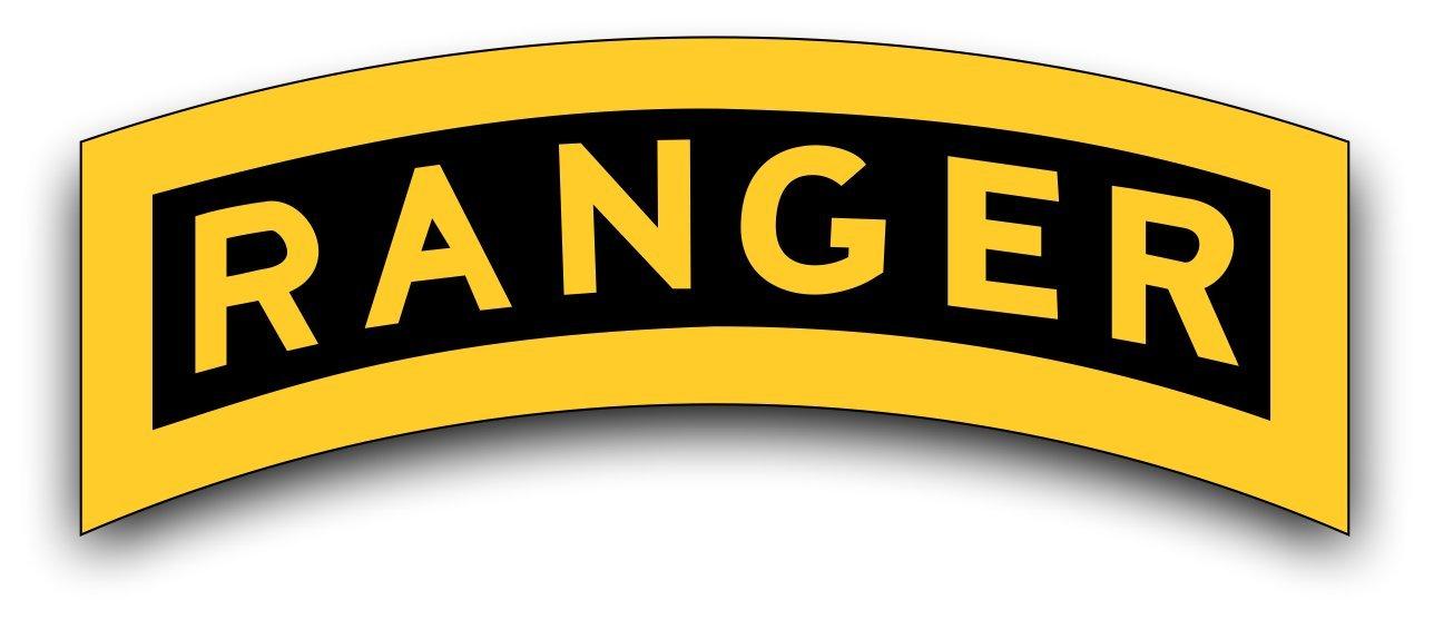 Ranger Tab Decal Sticker 3.8\