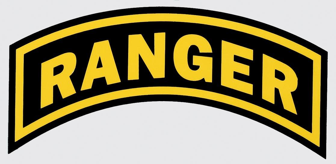 Army Ranger Arc Decal.