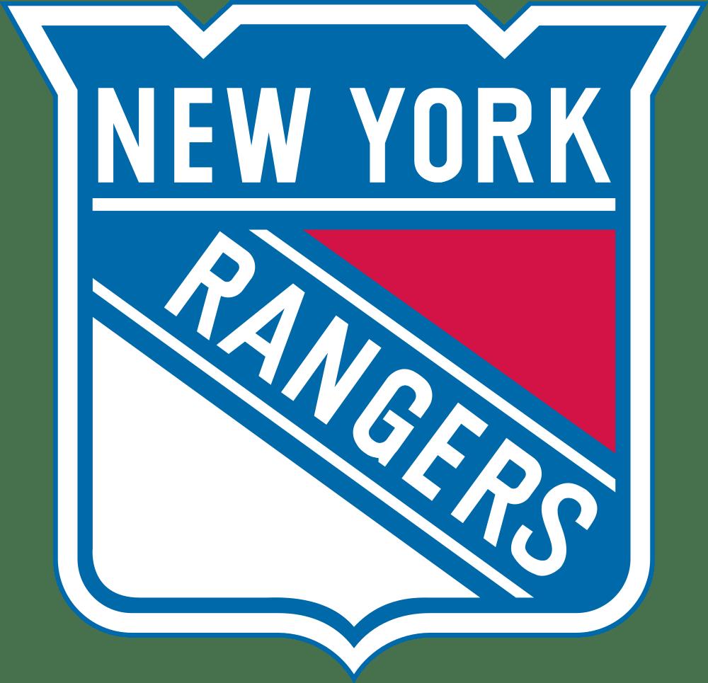 New York Rangers Logo transparent PNG.