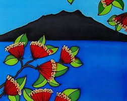 mt rangitoto illustrations.