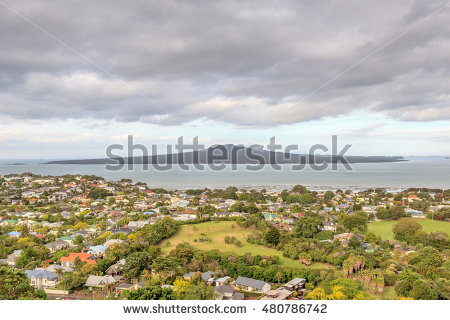 Rangitoto Island Stock Photos, Royalty.
