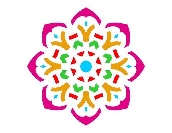 Rangoli Designs Clip Art.