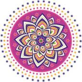 Rangoli Clip Art.