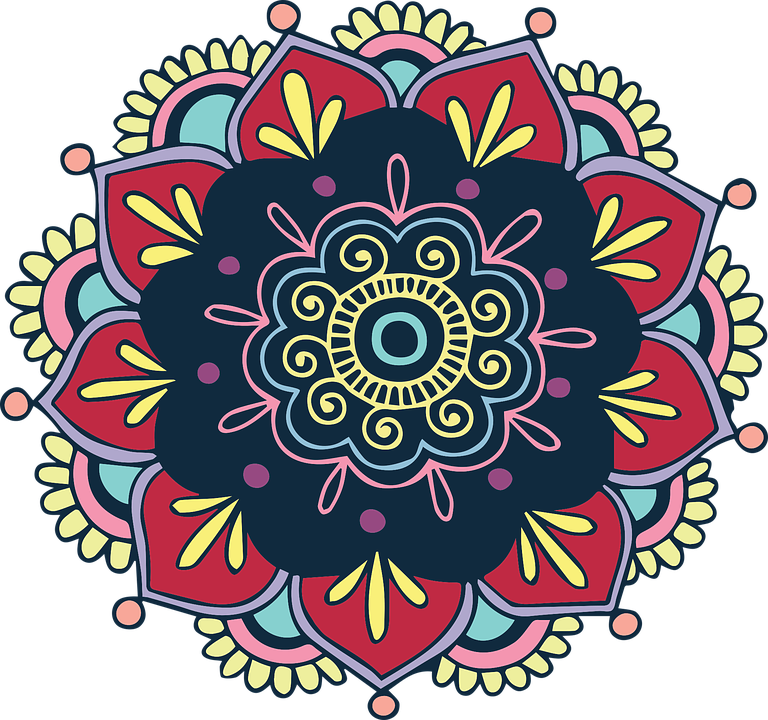 Mandala clipart rangoli, Mandala rangoli Transparent FREE.
