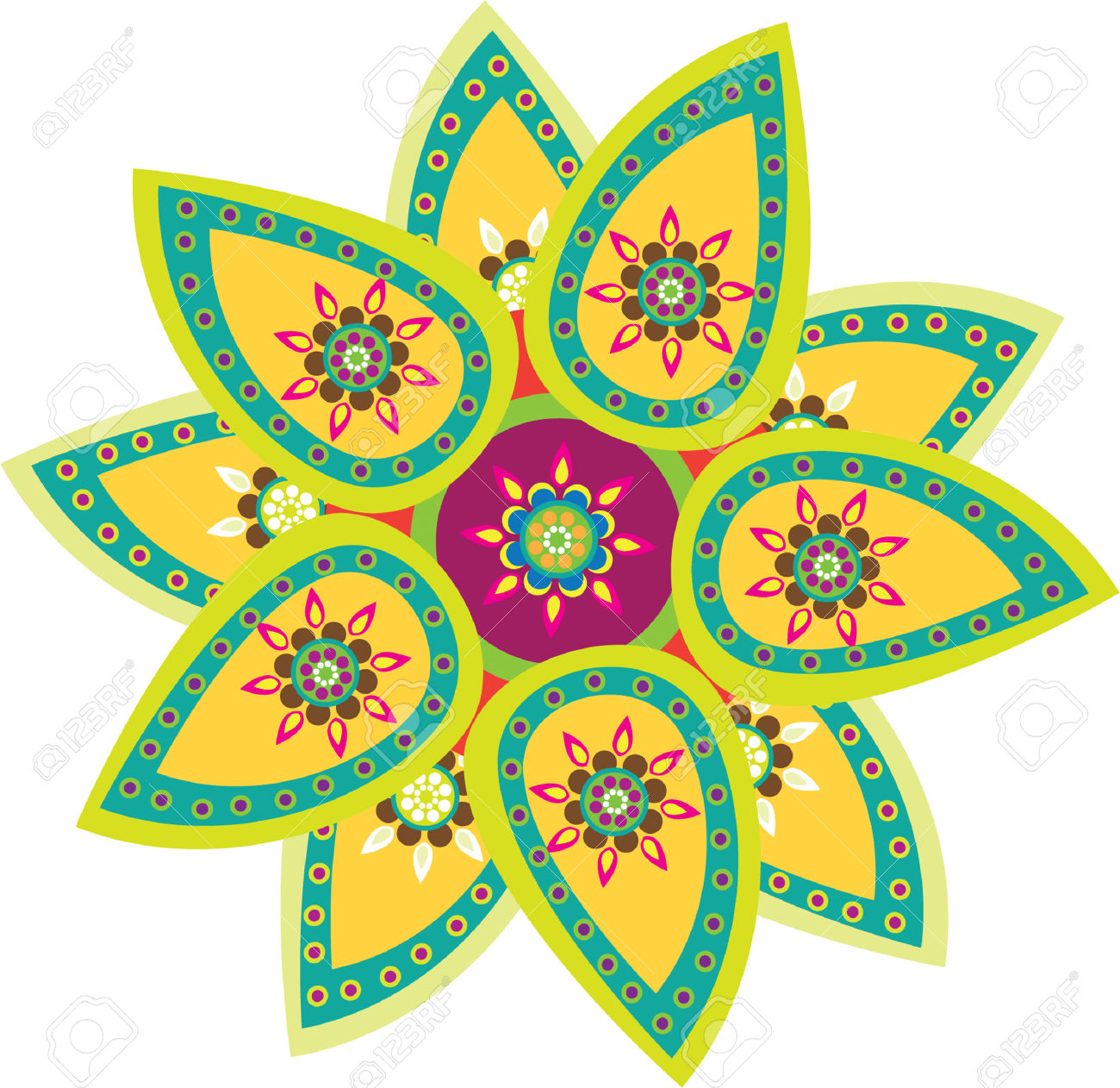 Library of rangoli image black and white stock hd png files.