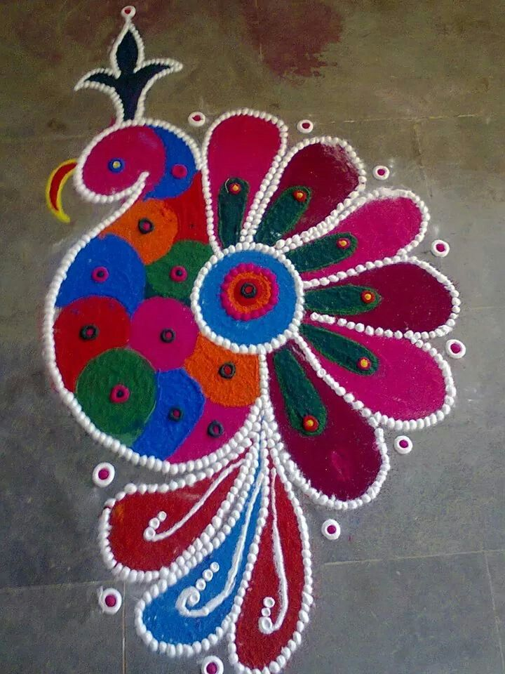 25+ best ideas about Easy Rangoli Patterns on Pinterest.