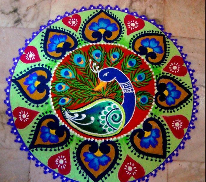 202 best images about Painting & Rangoli on Pinterest.