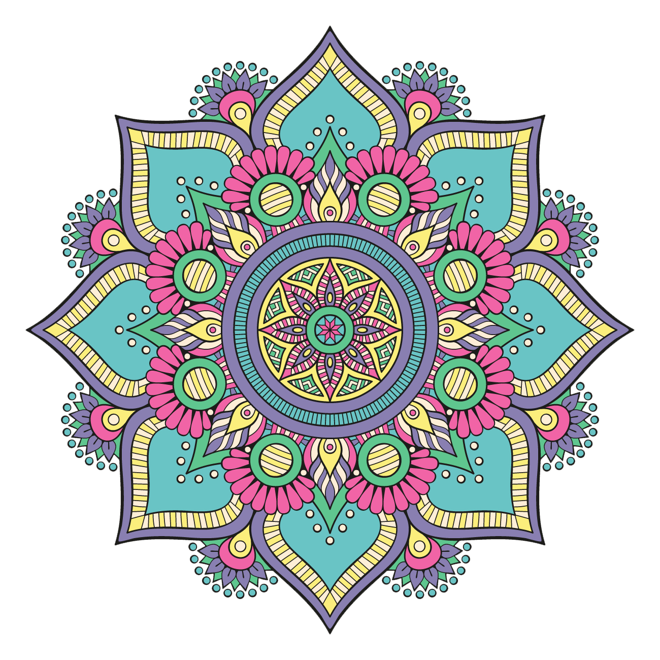Rangoli PNG Transparent Images, Pictures, Photos.