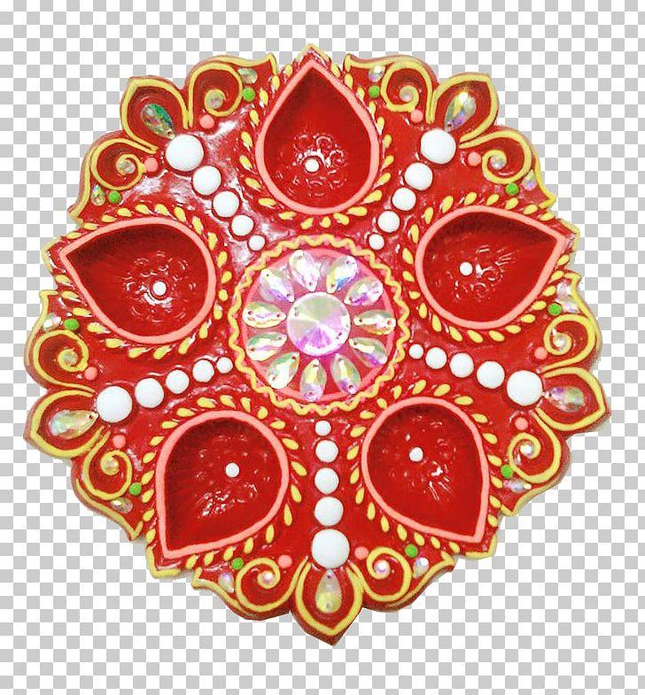 Diya Puja Thali Raksha Bandhan Rangoli Ganesha PNG, Clipart.