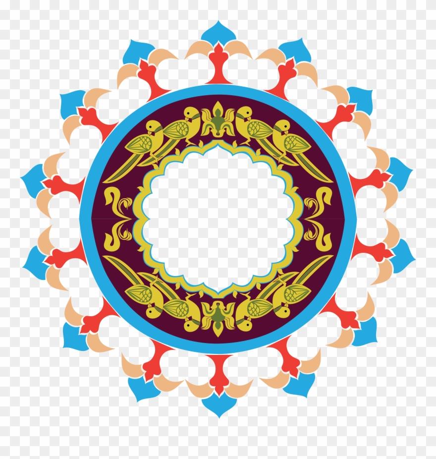 Clipart Rangoli Design Png Transparent Png (#1104269.