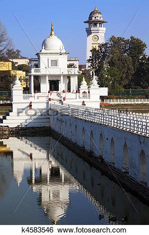 Stock Images of Rani Pokhari Temple, Kathmandu, Nepal k4583546.