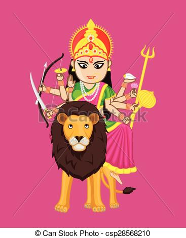 Clipart of mata rani.