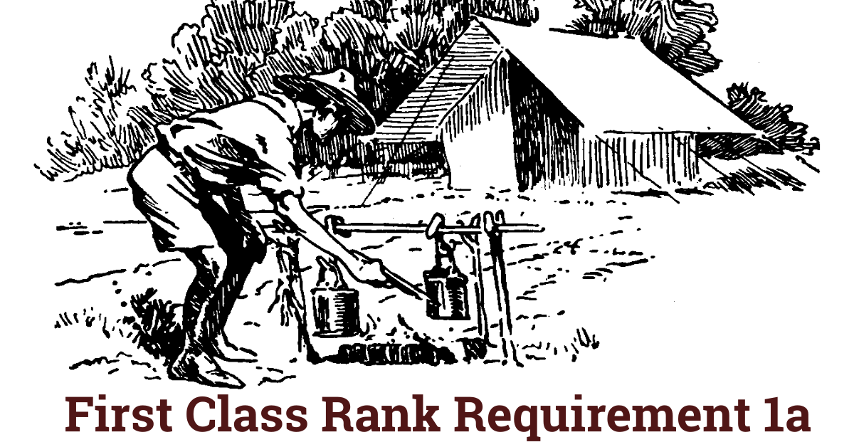 New First Class Rank Requirements.