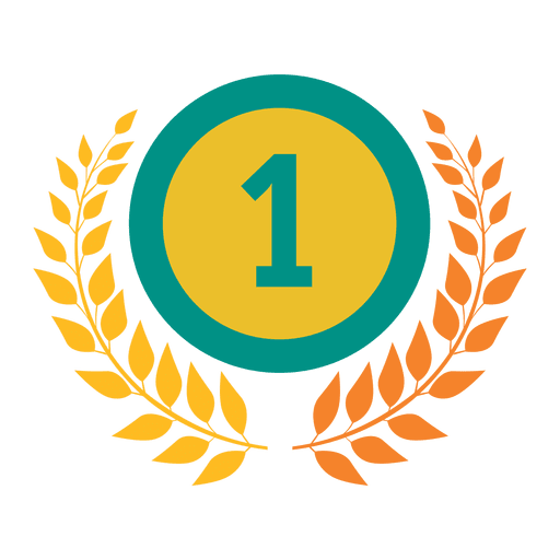 First rank badge olympic.