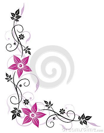 Blumenranke Clipart.