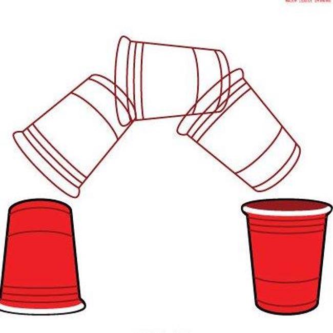 Flip Cup Clip Art.