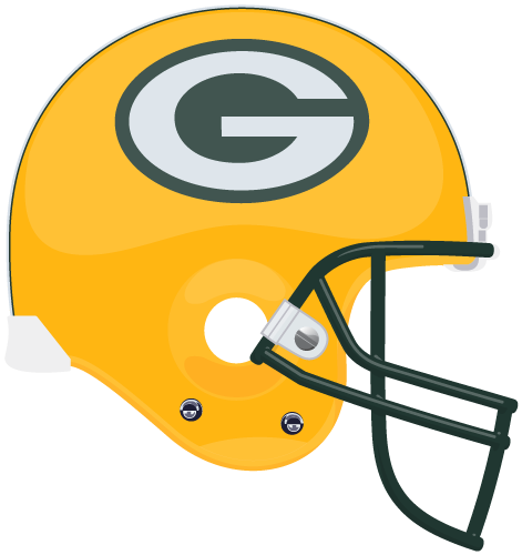 Green bay packers helmet clipart.